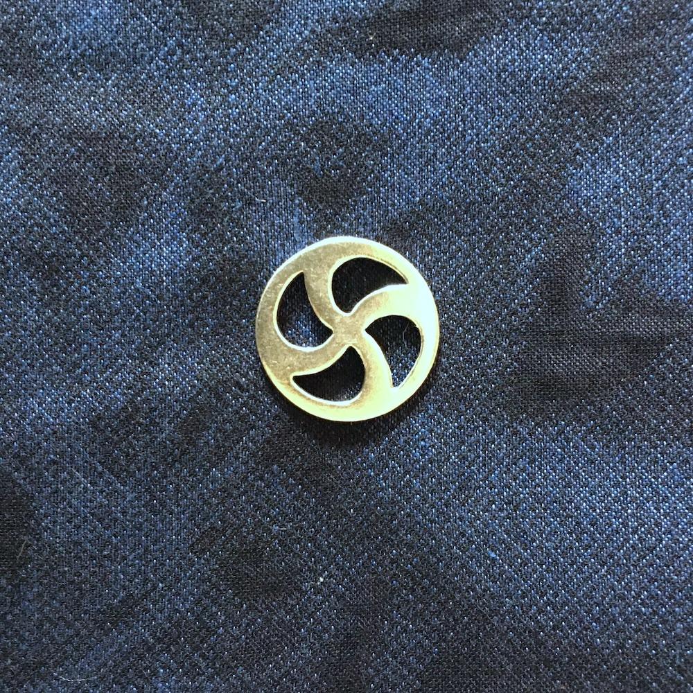 BEL Symbol Brooch